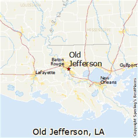 jefferson louisiana map best places to live in jefferson louisiana