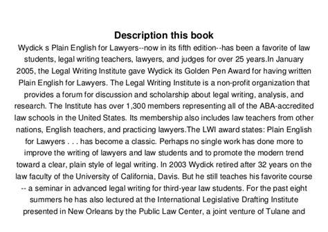 read plain for lawyers richard c wydick pdf free