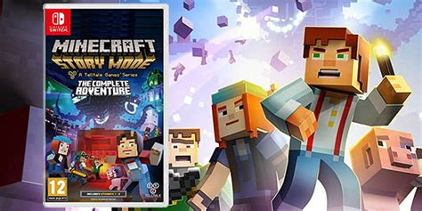 Kaset Switch Minecraft Story Mode The Complete Adventure Reserva Minecraft Story Mode The Complete Adventure Para Nintendo Switch Desde S 243 Lo 37 90
