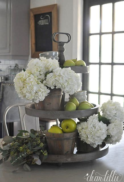 17 best ideas about kitchen table centerpieces on