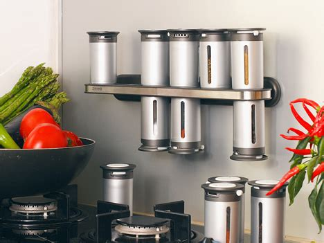 especiero magnetico zevro 15 creative and modern spices racks for your kitchen
