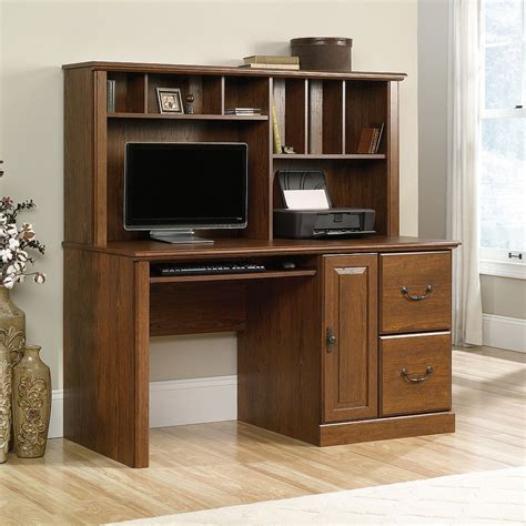 Furniture Sauder Computer Desks Home Office Desk With Corner Computer Desk With Hutch For Home