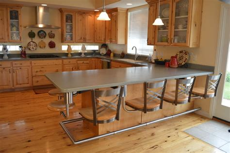 kitchen snack bar ideas kitchen snack bar seating metal with wood seats