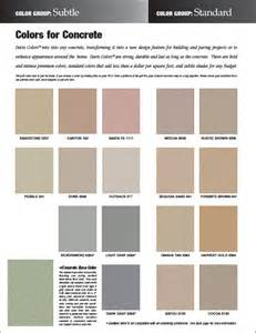 davis colors pin davis concrete color selector page 1jpg on