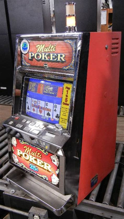 igt pe upright video slot machine multi poker
