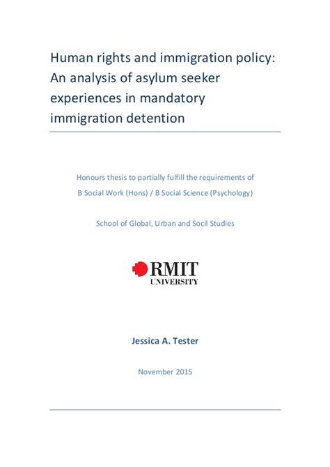 human rights thesis honours thesis human rights and immigration policy help on dissertation human rights