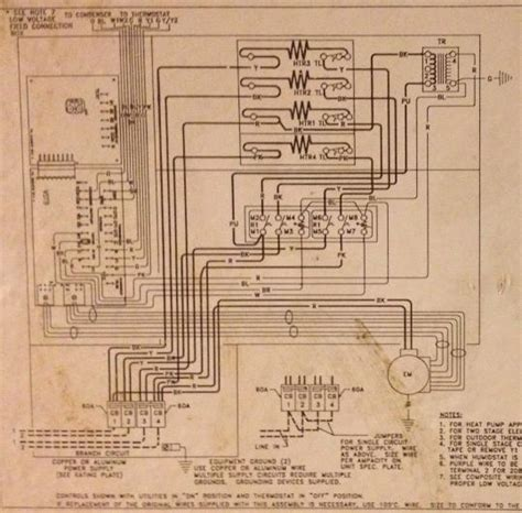 electric furnace sequencer wiring diagram wiring diagrams