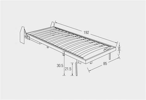 reti per letti a scomparsa meccanismo per letto a ribalta verticale