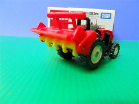 Tomica Yanmar Tractor Ecotra Eg300 Series tomica 52 yanmar tractor ecotra eg300 series dextersdc