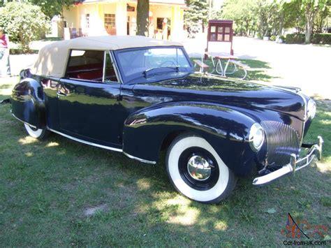 1940 lincoln continental 1940 lincoln continental convertible cabriolet classic