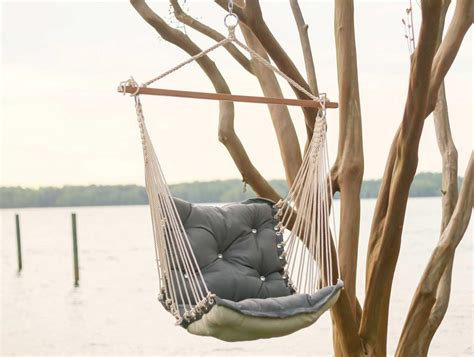 chair hammock swing review tufted outdoor hammock chair by hatteras hammocks