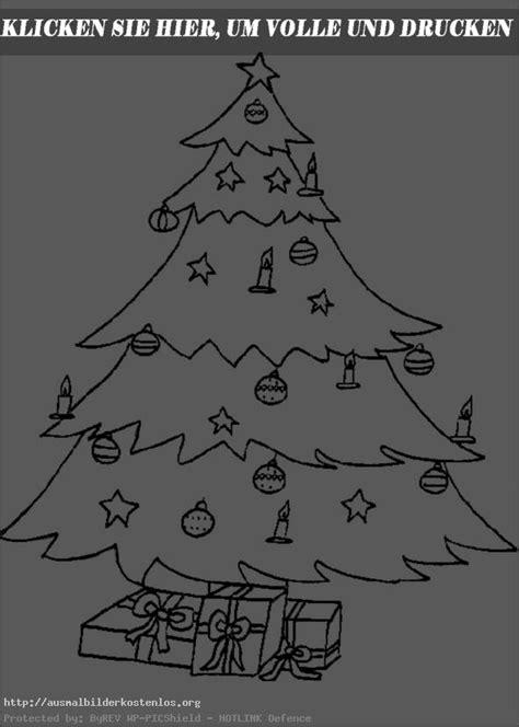 weihnachtsbaum zum ausmalen weihnachten 50 ausmalbilder kostenlos