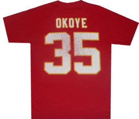 Kansas City Chiefs Christian Okoye Reebok Throwback
