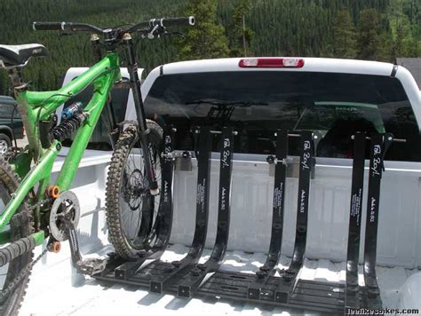 In Bed Bike Rack For Truck truck bed bike rack plans bed plans diy blueprints