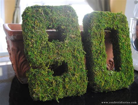 large moss covered letters ideas large moss covered