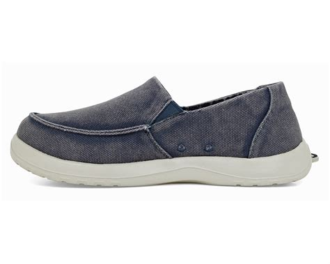 on shoes softscience s durango canvas slip on shoes blue