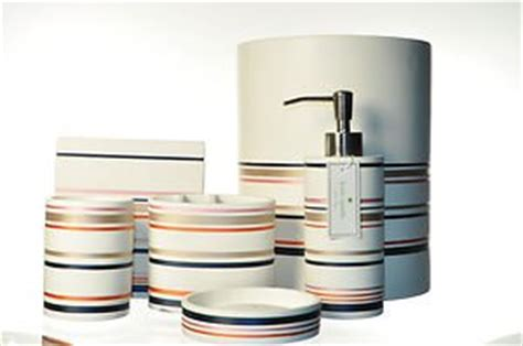 Kate Spade Bathroom Accessories Lenox Shop Stripe Bath Vanity Accessories 6 Set Kate Spade New
