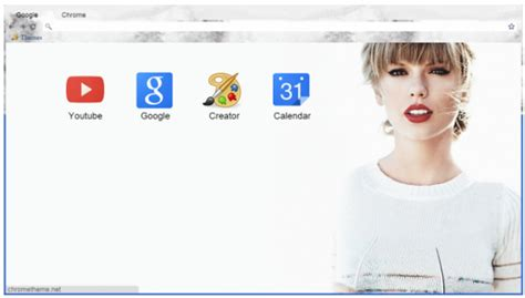google theme taylor swift 15 spectacular taylor swift chrome themes for true