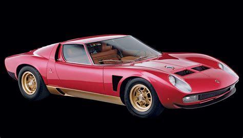 Lamborghini Classic Design Classic The 1971 Lamborghini Miura P400 Svj