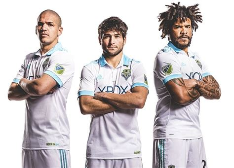 Jersey Seattle Sounders Away 20162017 Official seattle sounders 2017 adidas away jersey football