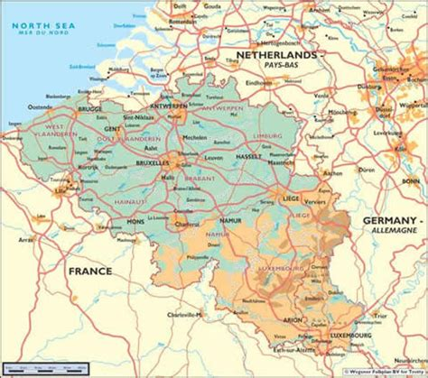 belgium and luxembourg map belgium and luxembourg