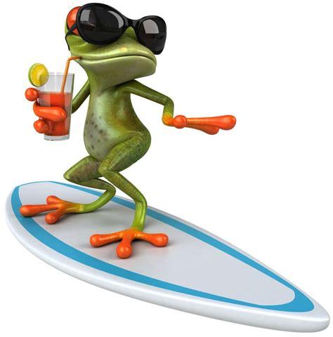 Aufkleber Klein by Aufkleber Surfer Frosch Cool Frog Golfer Sticker Hang