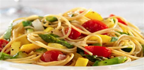 recipes with whole grains and vegetables whole grain spaghetti with fresh vegetables oldways