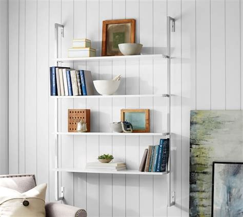 olivia wall mounted shelves pottery barn