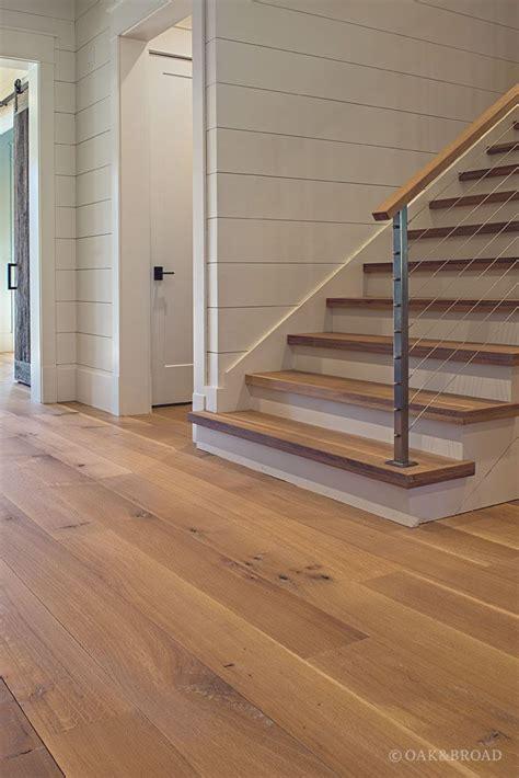 Wide Plank White Oak Flooring in Nashville, TN Modern