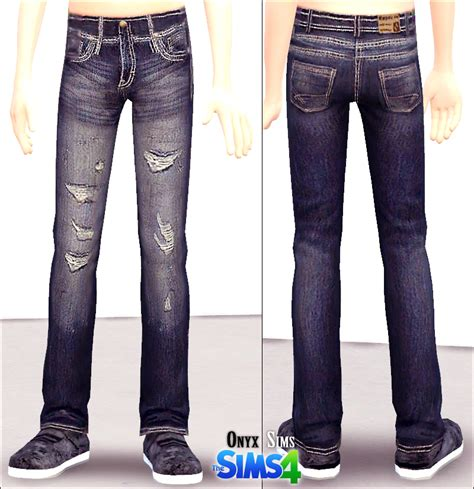 sims 4 jeans onyx sims new jeans for the kids available for download