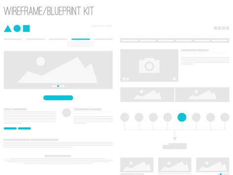 Selected Wireframes Templates That Are Free Free Website Wireframe Templates