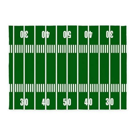 Football Field 5 X7 Area Rug By Decorativedesigns Football Field Rug For