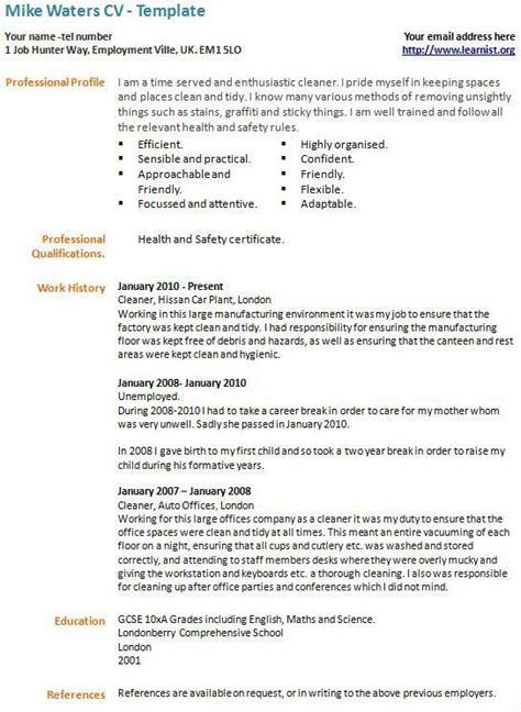 how to write a cv with exle best cv templates free premium templates