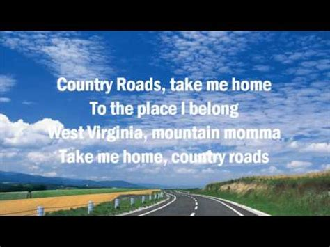 denver take me home country roads country