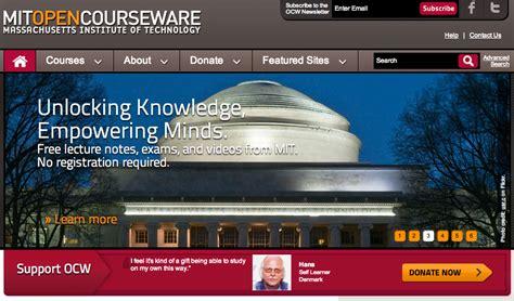 Mit Mba Mitopencourseware by Mit Opencourseware Acceso Gratuito A Materiales De Los