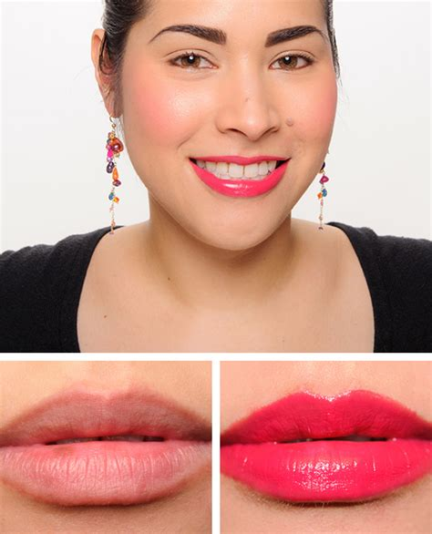 Ysl Volupte Shine 28 Intime ysl corail jalouse asarine volupte lipsticks reviews photos swatches