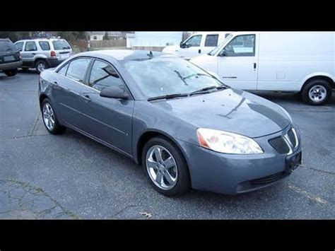 how make cars 2008 pontiac g6 auto manual 2008 pontiac g6 gt start up engine and in depth tour youtube