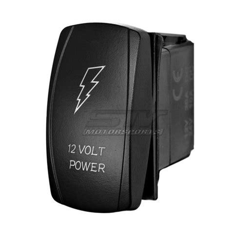 12 volt power laser rocker switch stv motorsports