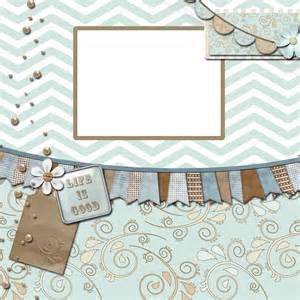 Free Digital Scrapbook Pages Templates by Enchanted S Free Quot Shore Quot Digital Scrapbook Page