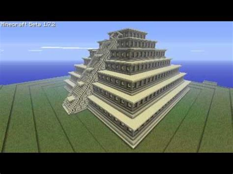 Design A House Game the pyramid of the niches minecraft project