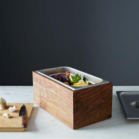 Diy Countertop Compost Bin by Noaway Countertop Walnut Compost Bin On Food52