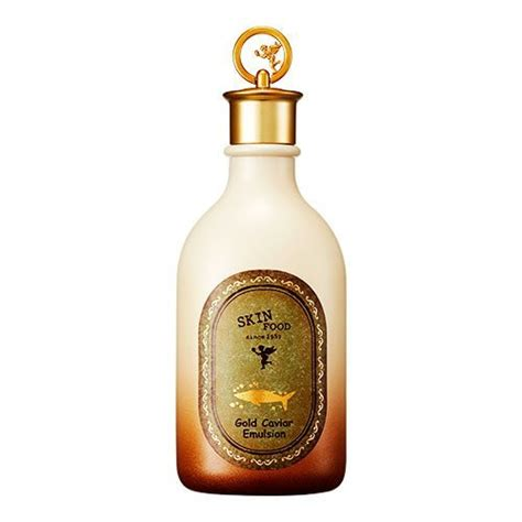 skinfood gold caviar emulsion 145ml korean cosmetic