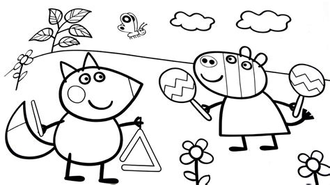 nick jr coloring pages peppa pig peppa pig coloring sheet to save