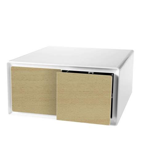 tiroir cd cube de rangement 2 tiroirs horizontaux cd dvd easybox