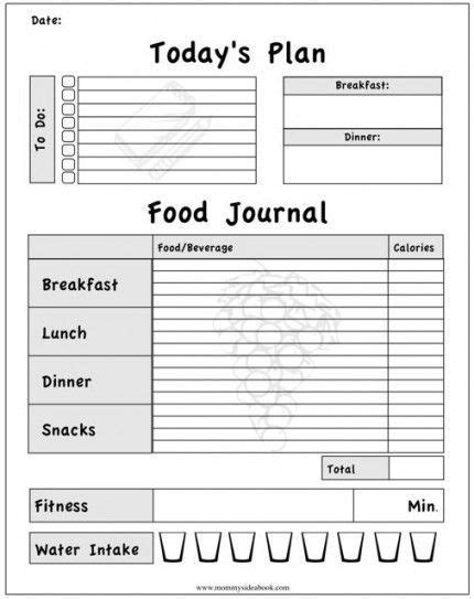 free printable exercise journal stay motivated everyday kira pertuit pinterest stay