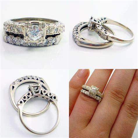 14k vintage retro 1950s engagement ring wedding