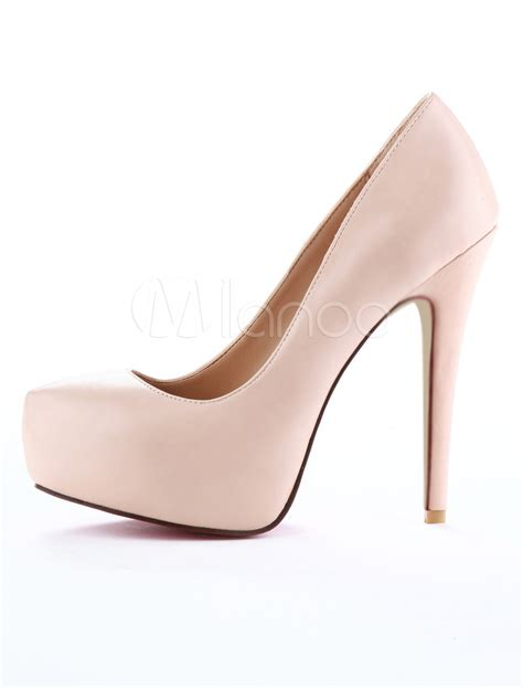 color high heels unique color heels 2 color almond toe high heels milanoo