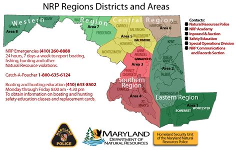 maryland dnr map staffing