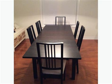 Dining Chairs For Sale Ikea Ikea Dining Room Table And Chairs For Sale West Carleton Gatineau