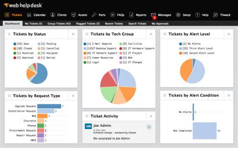 solarwinds web help desk solarwinds web help desk software 2018 reviews demo
